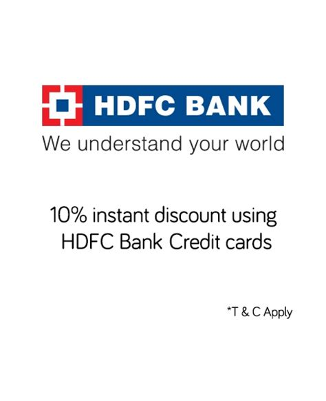 make my trip offers hdfc credit cards snapdeal hdfc bank credit card offer get 10 discount