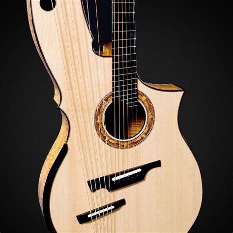tutorial guitar acoustic guitars greenfield guitars harp guit harp uku harp x