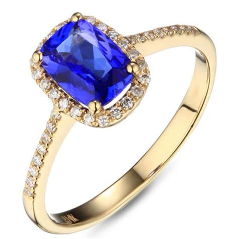 1 50 carat oval cut blue sapphire and halo