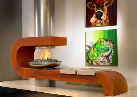 camino di design arredare casa camini interior design
