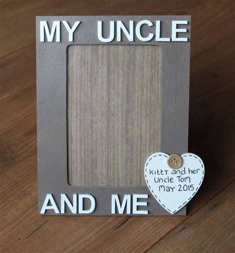 uncle photo frame uncle gift male gift men s gift