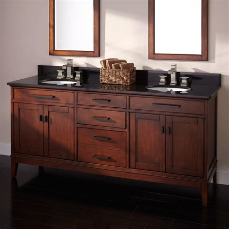 dual sink bathroom vanity 72 quot madison double vanity for undermount sinks tobacco