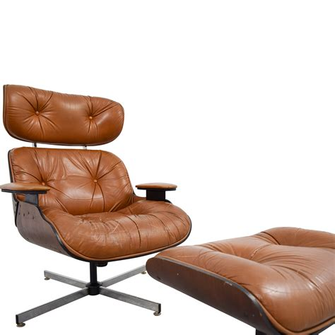 eames leather chair and ottoman 69 eames replica leather chair with ottoman chairs
