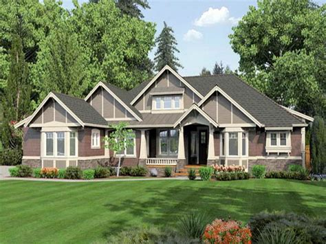the gallery for gt craftsman style house plans single story
