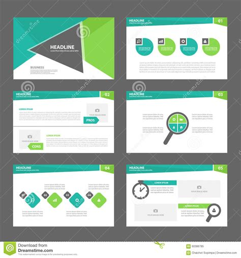green presentation template green presentation template annual report brochure flyer
