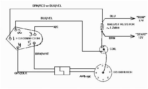wiring diagram for electronic distributor ignition wiring diagram fuse box and wiring diagram