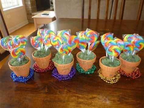 Giveaways For 1 Year Old Birthday Party - party favors for 6 year old birthday rainbow peace sign theme crafts gifts and