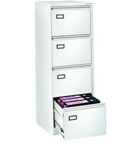 Godrej File Cabinet Four Drawer Vertical Filing Cabinet In White Finish By Godrej Interio By Godrej Interio