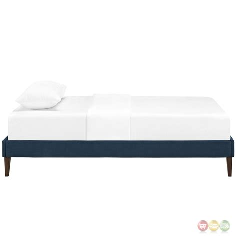 modern twin bed sharon modern twin fabric platform bed frame with square