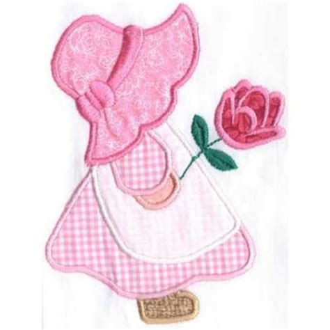 sunbonnet sue applique machine embroidery design sunbonnet sue 171 embroidery origami