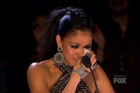Paula Abdul Has A Meltdown by Scherzinger Was Coached By Paula Abdul To Vote
