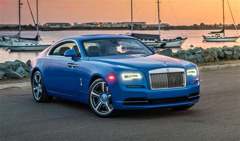 roll royce blue stunning arabian blue 2017 rolls royce wraith for sale
