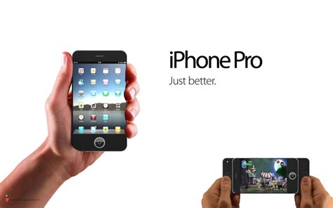 Iphone Pro iphone pro concept possibly the best iphone 4g design