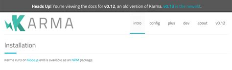 node js karma tutorial karmaとjasmineのjsテストを試してみました tyoshikawa1106のブログ