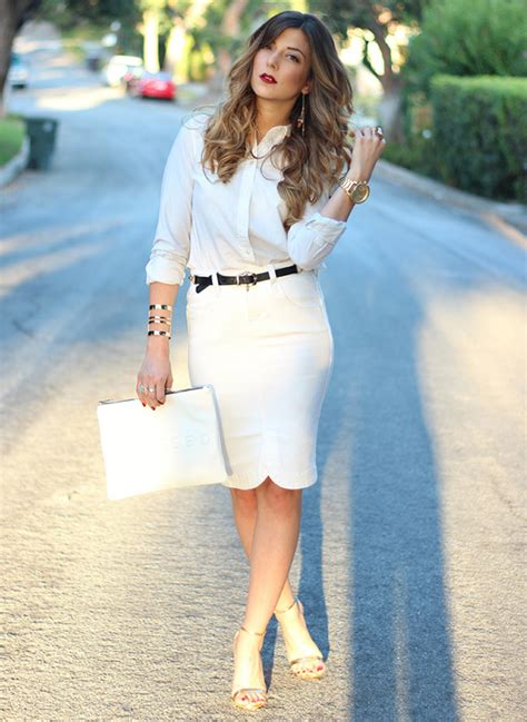 BFFs: The Pencil Skirt And Leather Belt   SoInTheKnow