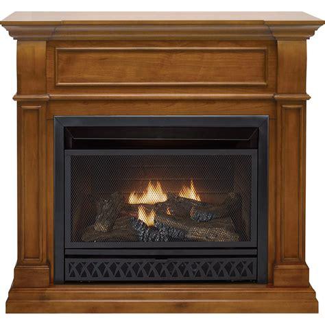 product procom dual fuel vent free fireplace 26 000 btu apple spice finish model fbd28t j as