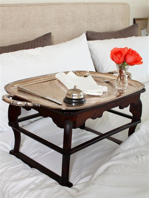 breakfast in bed table valentine s day date ideas for staying in diy network