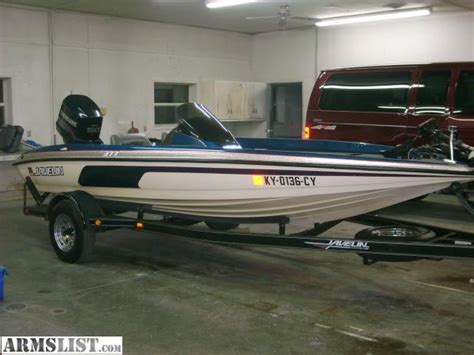 javelin bass boat armslist for sale trade 1995 javelin bass boat guns