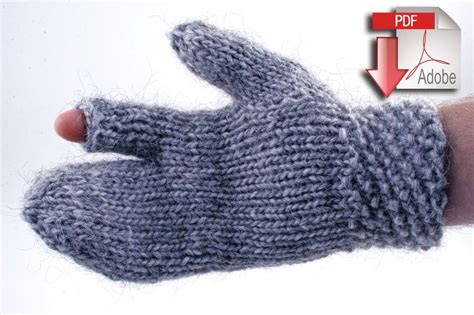 bulky yarn knitting patterns guard s gauntlet bulky weight wool pattern