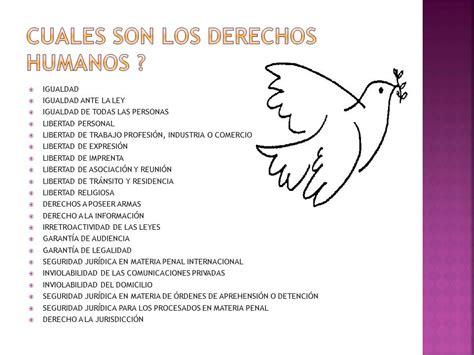 cuales son derechos humanos valores eticos fundamentales y derechos humanos ppt