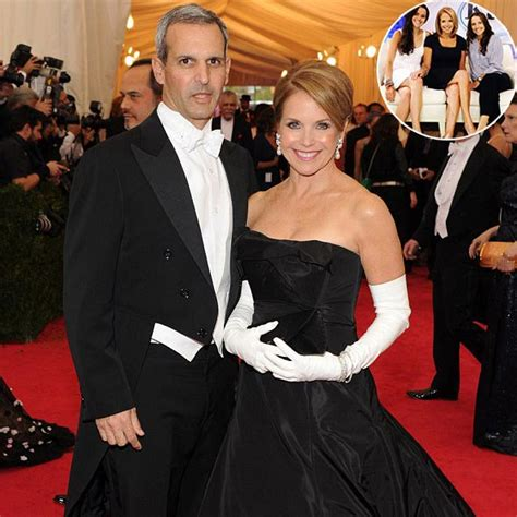 katie couric children astonishing married life of katie couric with her banker
