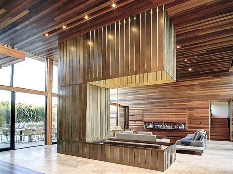 Ideas For Wood Paneling Modern Wood Paneling For Walls Stroovi