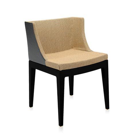 fauteuil mademoiselle kartell kartell fauteuil mademoiselle kravitz tessuto rafia structure polycarbonate color 233