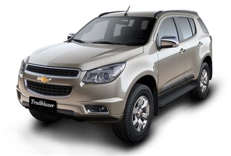 choverlet car chevrolet trailblazer india price review images