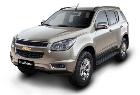 Chevrolet Trailblazer India, Price, Review, Images