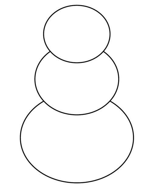 snowman template snowman template scribd teaching ideas