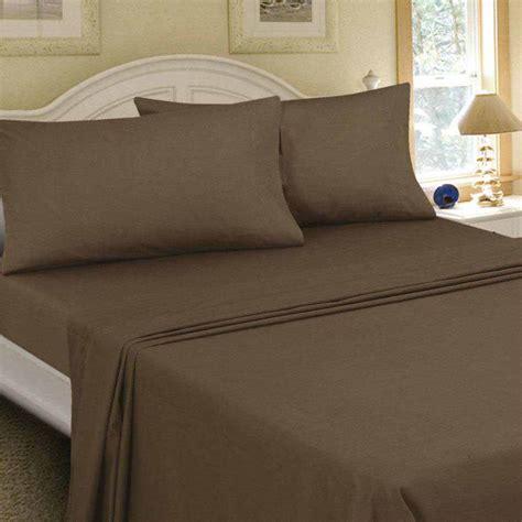 flannel bed sheets mainstays flannel bedding sheet set walmart com