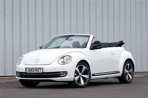 volkswagen beetle cabriolet  car review honest john