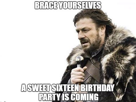 Sweet 16 Meme - funny birthday meme images funny birthday wishes