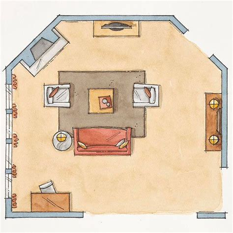 odd living room layout how to arrange furniture in odd shaped living room