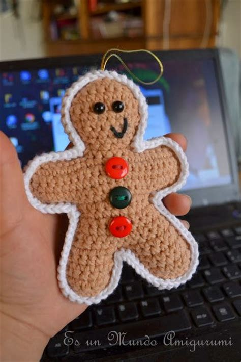 crochet pattern gingerbread man free pattern this fantastic gingerbread man is terribly