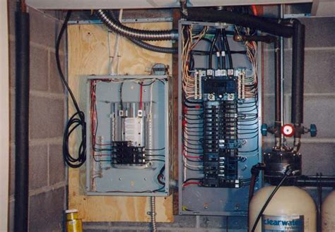 comfortable how to install a new electrical panel pictures