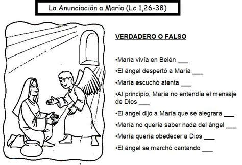 preguntas biblicas para jovenes falso o verdadero adviento navidad reli la inmaculada