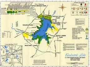 benbrook lake map flickr photo