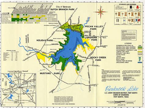 map of benbrook texas benbrook lake map flickr photo