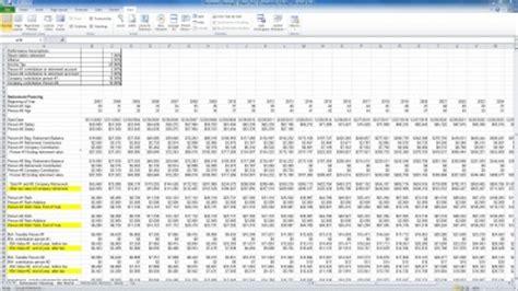 retirement planning spreadsheet templates yearly retirement plan yearly retirement plan template