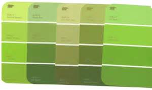Different Shades Of Green Paint | match the chip more ideas for thoughtful parents