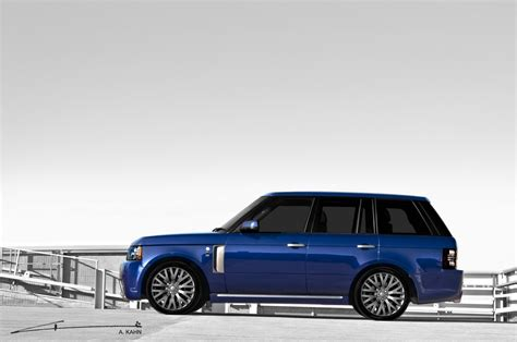 blue range rover project kahn bali blue rs450 range rover vogue presented