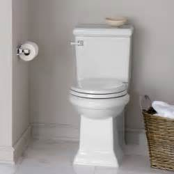 American standard town square concealed trapway rh elongated toilet
