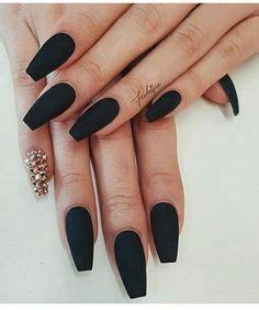 matte black black nails nail designs matte black nails