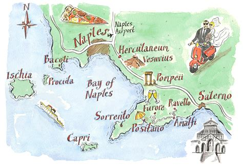 map of amalfi coast italy 2015 amalfi coast northern nj wedding photographer