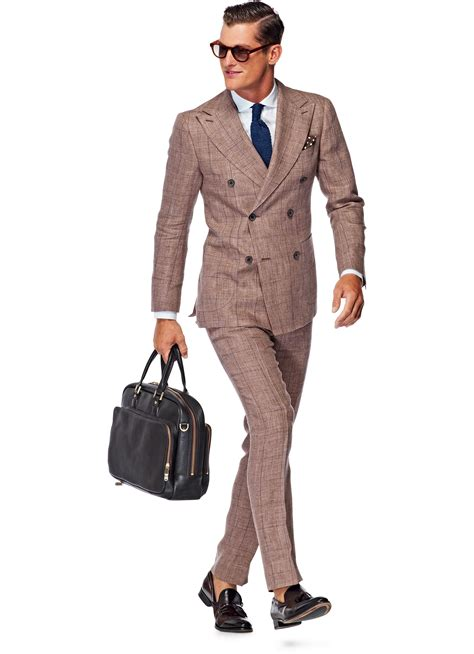 Light Brown Suit by Suit Light Brown Check P3835 Suitsupply Store