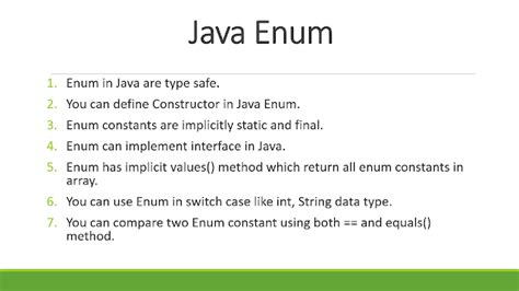 Tutorial Java Enum | java enum tutorial 10 exles of enum in java
