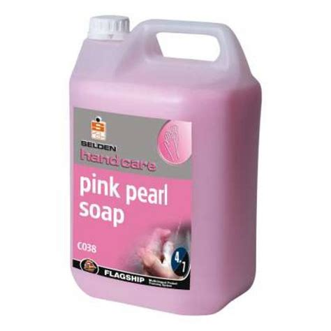 Pearl Detox Soap by Selden Pink Pearl Soap 5 Litre C038 Wessex Cleaning