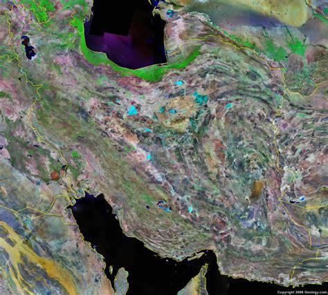 satellite map of iran iran map and satellite image