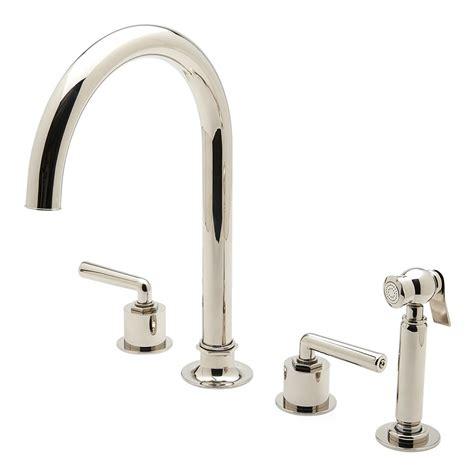 waterworks kitchen faucets waterworks brass kitchen faucet